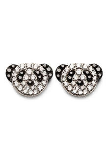 QEELIN Fashion Bobo diamond stud earrings