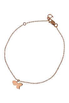 QEELIN Petite Qin Qin 18ct rose gold charm bracelet