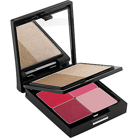 TRISH MCEVOY Power of Beauty bronzer and lip palette