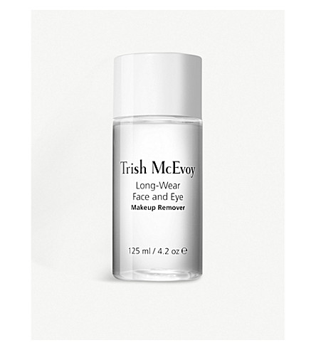 TRISH MCEVOY Long-wear face and eye make-up remover skin cleansing water 125ml