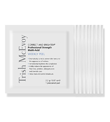 TRISH MCEVOY Correct and Brighten® Professional Strength Multi Acid Weekly Peel