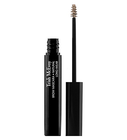 TRISH MCEVOY Brow mascara long-wear (Natural