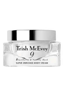 TRISH MCEVOY N° 9 Blackberry & Vanilla Musk super enriched hand and body cream 100g