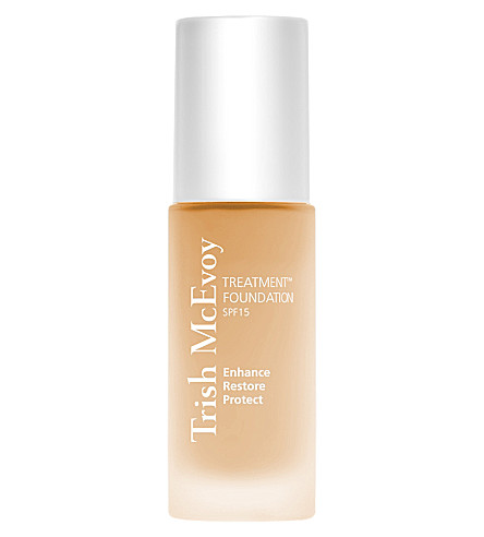 TRISH MCEVOY Treatment Foundation SPF 15 (Sunny+beige