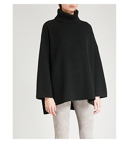 JOSEPH Turtleneck wool-blend jumper (Black