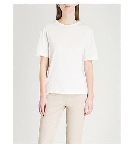 JOSEPH Cotton-jersey T-shirt (Off+white
