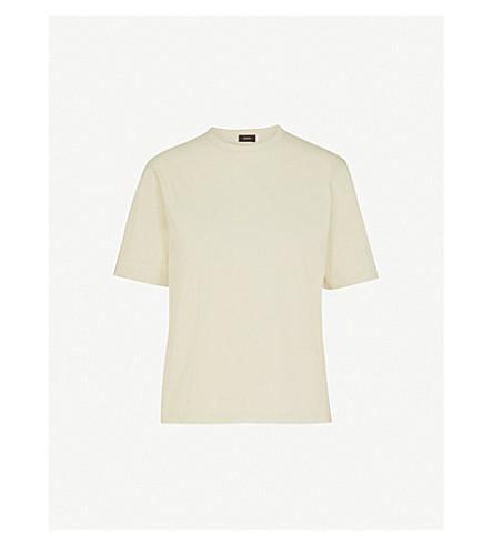 JOSEPH Cotton-jersey T-shirt (Pea