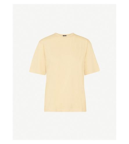 JOSEPH Mercerized cotton-jersey T-shirt (Custard