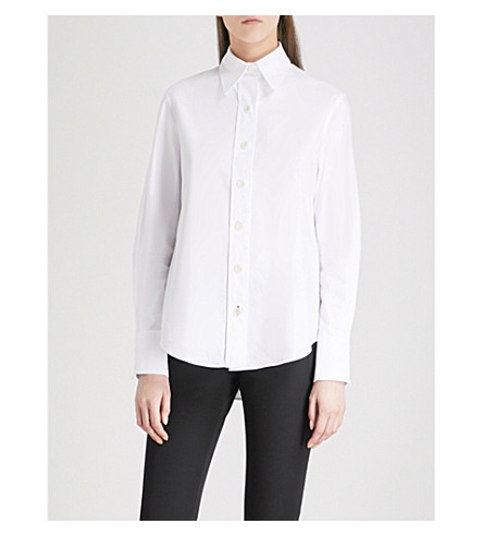JOSEPH Garcon cotton shirt (White