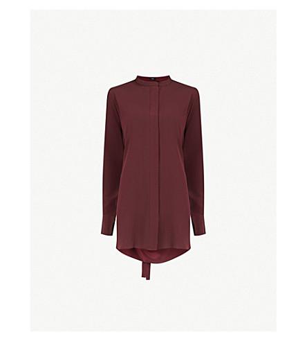 JOSEPH Longline silk blouse (Morgon