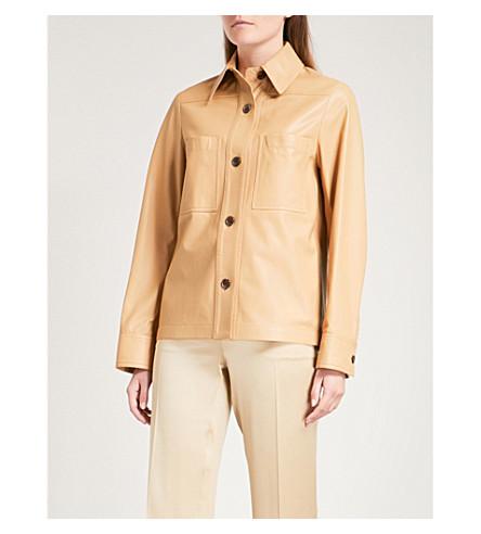 JOSEPH Coen leather jacket (Camel