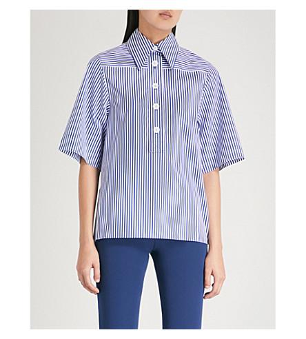 Navy Striped Navy shirt cotton shirt cotton JOSEPH JOSEPH Striped wRxZnqC5