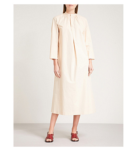 JOSEPH Marly cotton-poplin dress (Pearl