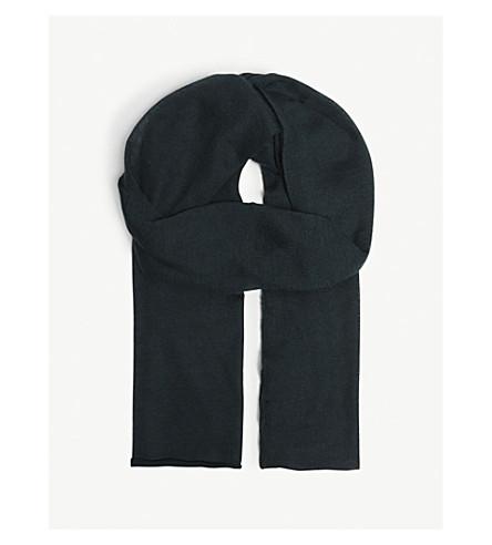 JOSEPH Tube cashmere scarf (Bermuda