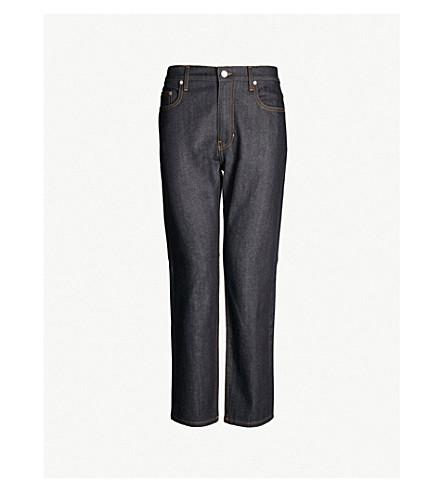 JOSEPH Stretch-denim boyfriend jeans (Blue