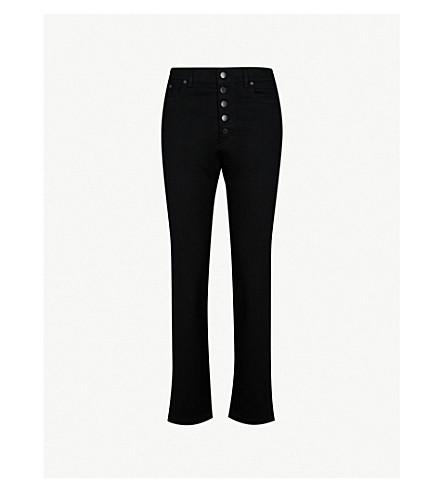 JOSEPH Stretch-cotton trousers (Black