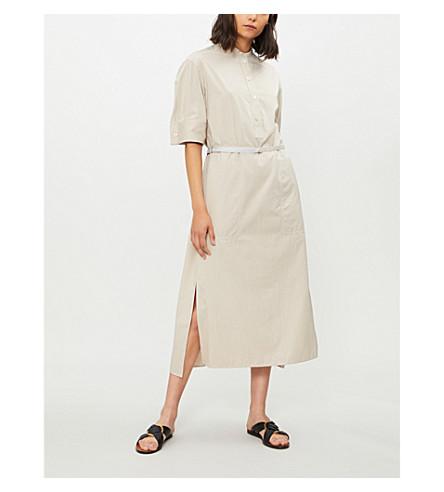 JOSEPH Barker cotton dress (Flaxen