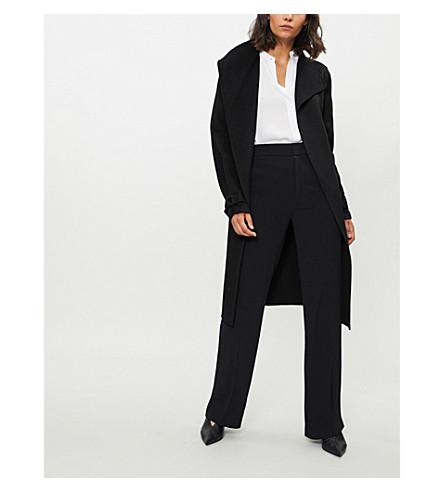 JOSEPH New Lima wool and cashmere-blend coat (Black
