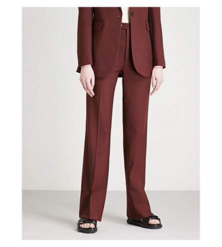 JOSEPH Tropez Tropez Morgon JOSEPH wool flared blend trousers flared 1ZZPwdqv
