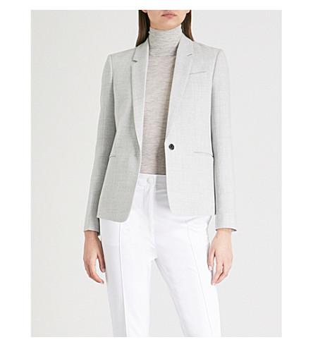 JOSEPH Will woven jacket (Grey+chine