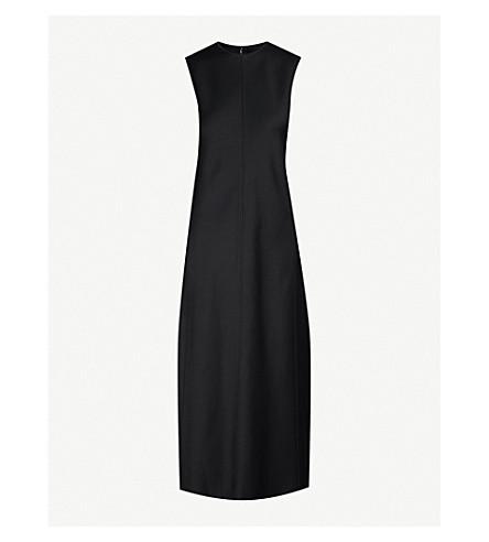 JOSEPH Sutton satin dress (Black