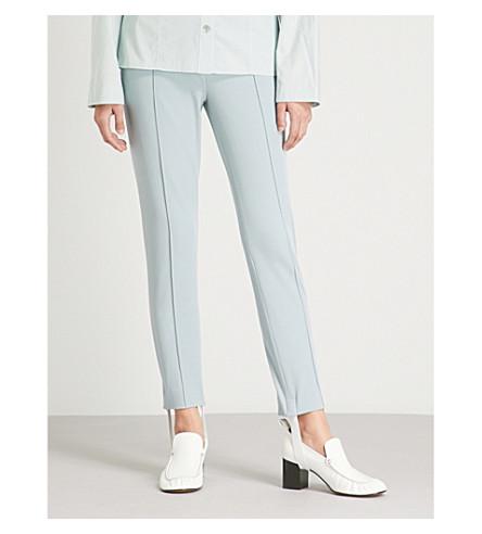 JOSEPH High-rise skinny stretch-cotton pants (Eton