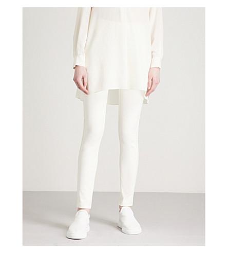 JOSEPH Nitro slim-fit skinny woven trousers (Ecru