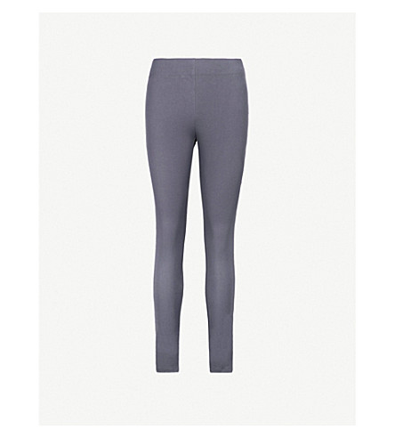 JOSEPH Slim-fit skinny high-rise woven trousers (Ink