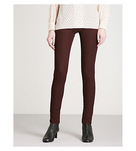 JOSEPH Slim-fit skinny high-rise woven trousers (Morgon