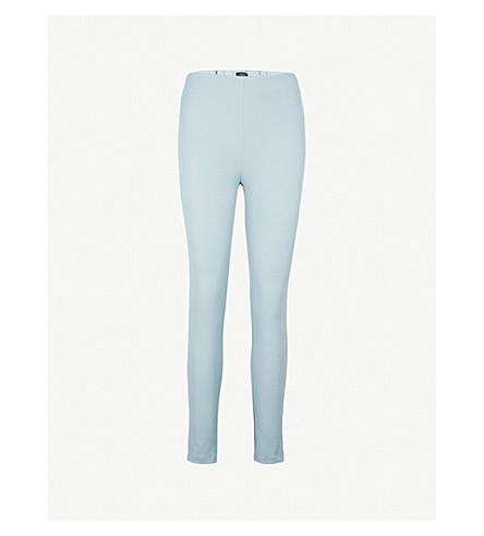 JOSEPH Slim-fit skinny high-rise woven trousers (Eton
