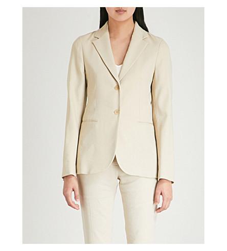 Woven jacket blend linen JOSEPH Woven Hessian linen JOSEPH p5xOHqw11