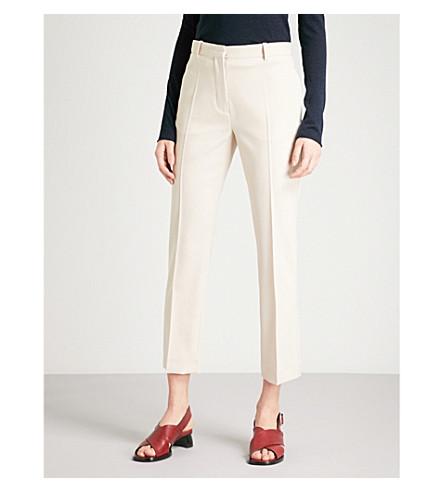 JOSEPH Zoom stretch-wool trousers (Beige