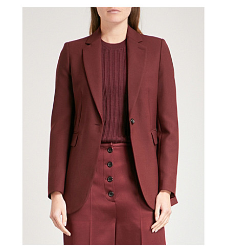JOSEPH Single-breasted woven jacket (Morgon