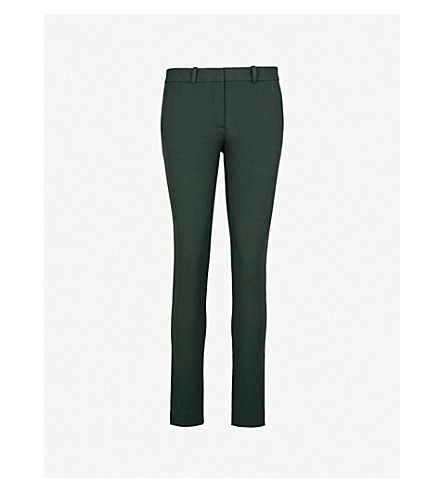 JOSEPH New Eliston slim-fit stretch-gabardine trousers (Bermuda