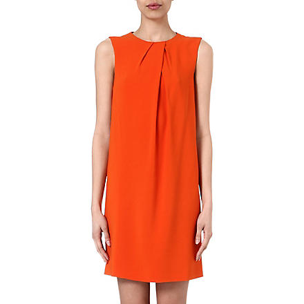 JOSEPH Jools crepe dress (Orange