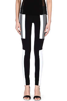 JOSEPH Colour-block panel leggings