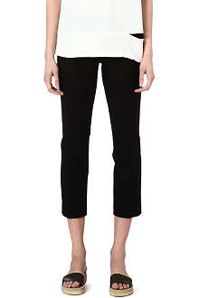 JOSEPH Queen gabardine stretch cropped trousers