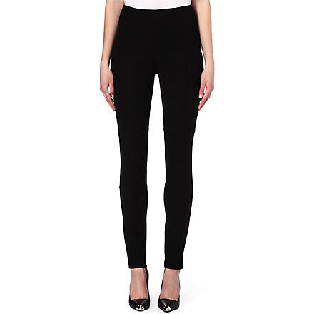 JOSEPH Stretch gabardine jeans (Black