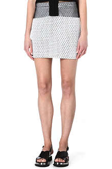 JOSEPH Nikki optic jacquard skirt
