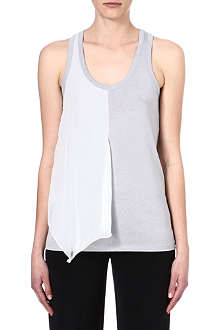 JOSEPH Jersey and debardeur georgette tank top