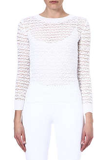 JOSEPH Knitted lace jumper