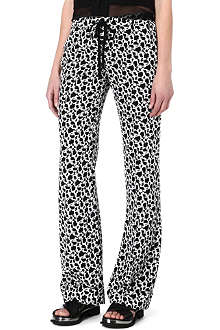 JOSEPH Pyjama silk trousers