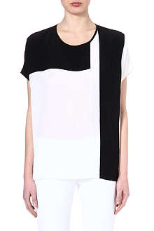 JOSEPH Silk monochrome top