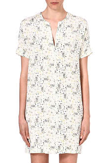 JOSEPH Samuelle pixelated-print dress