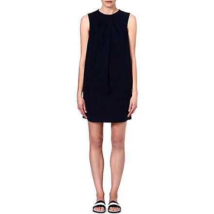 JOSEPH Jools poplin cotton dress (Navy
