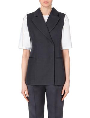 JOSEPH Barrow couture sleeveless jacket