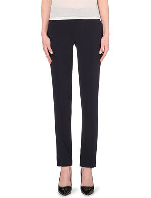 JOSEPH Ben tapered crepe trousers