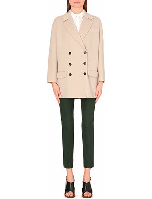 JOSEPH Jean wool and cashmere-blend coat