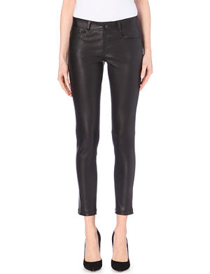 JOSEPH Jeannie stretch leather trousers