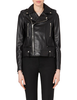 JOSEPH Ryder biker leather jacket